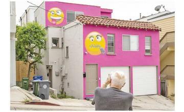 'Emoji House' at the center of neighborhood dispute in California