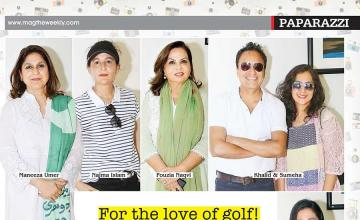 For the love of golf!