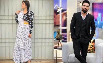 Yasir Hussain under fire (again), for unsolicited comments about Hina Mani's sari