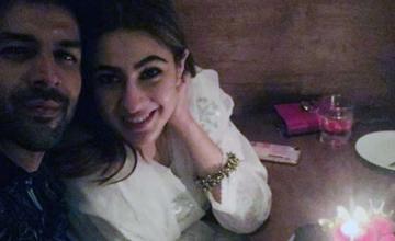 Kartik Aaryan calls Sara Ali Khan 'princess'
