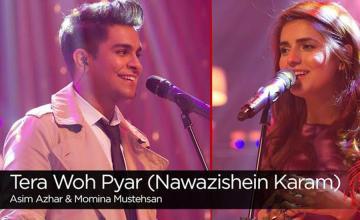 Nawazuddin Siddiqui praises Momina Mustehsan and Asim Azhar's Tera Woh Pyaar