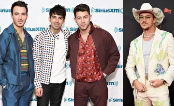 Diplo hacks the Jonas Brothers Instagram Account