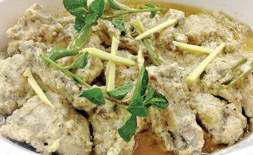 Mutton White Karahi