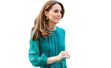 Kate Middleton flaunts Pakistani brand Zeen's earrings