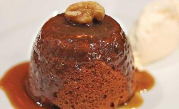 Walnut Pudding