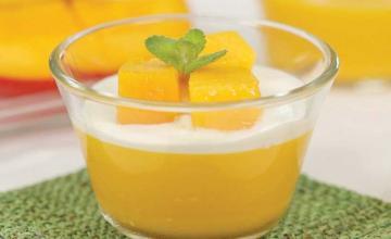 Double Mango Pudding