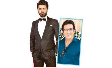 Fawad Khan, Wasim Akram, Mikaal Zulfiqar and others sign a film