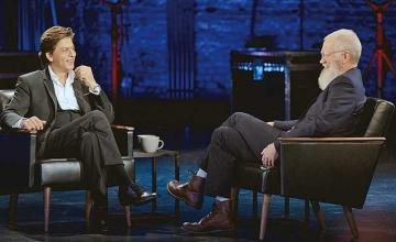 My Next Guest with David Letterman feat Shah Rukh Khan
