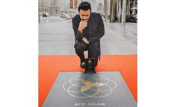 Atif Aslam now has his own Dubai Star