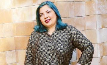 Vivid and vivacious; MALIHA RAO