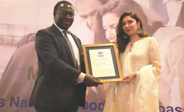 Mahira Khan appointed as the UNHCR Goodwill Ambassador for Pakistan