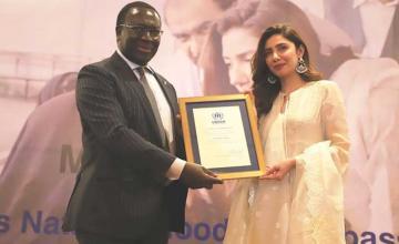 Mahira Khan appointed as the UNHCR Goodwill Ambassador for Pakistan
