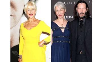 Helen Mirren mistaken for Keanu Reeves' girlfriend