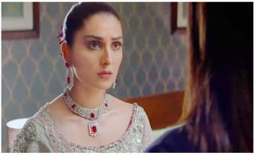 Ayeza Khan reacts to Mehwish getting slapped