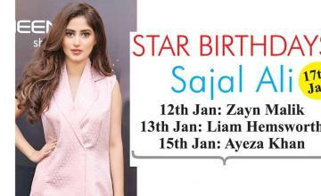 STAR BIRTHDAYS Sajal Ali