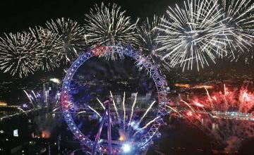 BANGS FOR THEIR BUCKS: CITIES WITH THE BIGGEST NEW YEAR'S EVE FIREWORKS