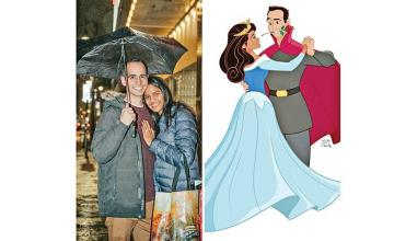 Man animates himself and girlfriend into Disney's Sleeping Beauty – then proposes at the theater