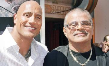 Dwayne Johnson pays tribute to father Rocky Johnson through an Instagram post