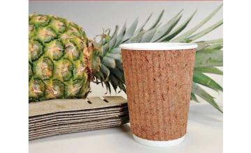 Filipinos create an alternative to plastic cup from pineapple leaves