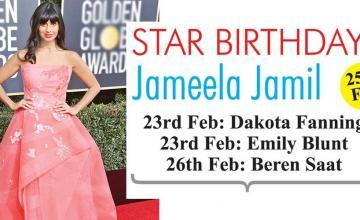 STAR BIRTHDAYS Jameela Jamil