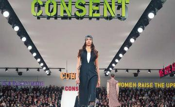 Dior brings feminist messages to the runway