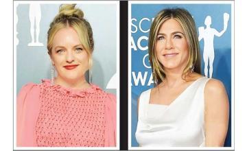 Elisabeth Moss wasn't invited to Jennifer Aniston's birthday party
