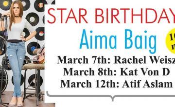 STAR BIRTHDAYS Aima Baig