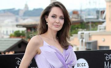 Angelina Jolie made her first public appearance in 2020