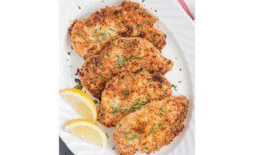 Crunchy Chicken Cutlets