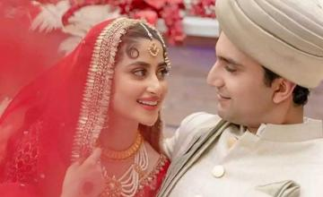 Sajal Aly and Ahad Raza Mir tied the knot in an intimate ceremony