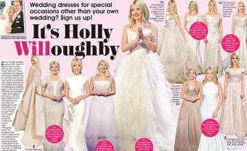 It's Holly Willoughby