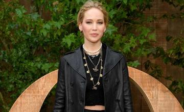 An intruder has been arrested from Jennifer Lawrence's residence