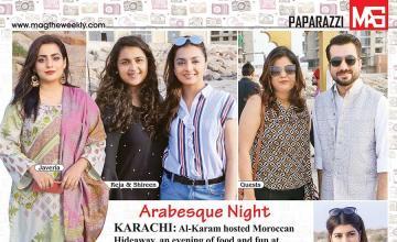 Arabesque Night