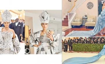Fans recreate iconic Met Gala looks at home