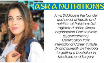 ASK A NUTRITIONIST