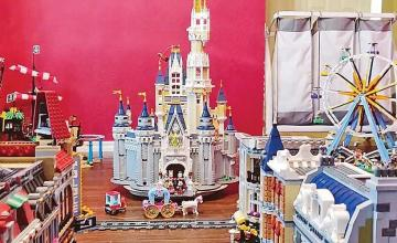 Texas man spends 300 hours creating LEGO Disneyland replica amid coronavirus pandemic