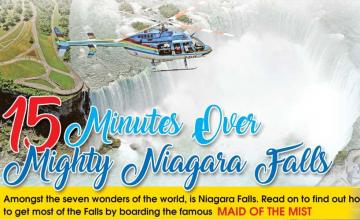 15 Minutes Over Mighty Niagara Falls