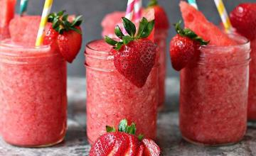 Watermelon & Strawberry Slush