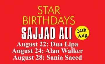 STAR BIRTHDAYS SAJJAD ALI